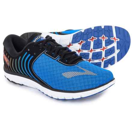 Brooks PureFlow 6 Running Shoes (For Men) in Electric Brooks Blue/Black/Silver - Closeouts