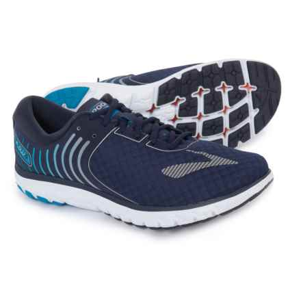 Brooks PureFlow 6 Running Shoes (For Men) in Peacoat/Methyl Blue/Silver - Closeouts