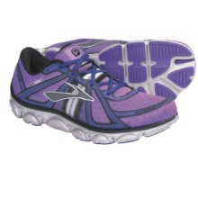 Brooks PureFlow Running Shoes (For Women) in Neon Purple/Neon Blue/Black - Closeouts