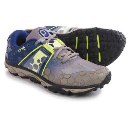 Brooks PureGrit 4 Trail Running Shoes (For Men) in Driftwood/Blueprint/Nightlife - Closeouts