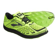 Brooks PureGrit Trail Running Shoes - Minimalist (For Men) in Nightlife/Black/Pavement - Closeouts