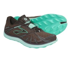 Brooks PureGrit Trail Running Shoes - Minimalist (For Women) in Cockatoo/Mustang/Yucca/Java - Closeouts