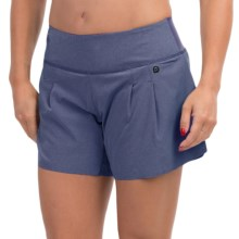 "Brooks PureProject 2-in-1 Shorts - 5"", Built-In Shorts (For Women) in Heather Midnight - Closeouts"