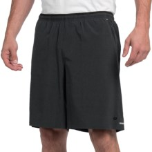 "Brooks PureProject 9"" Running Shorts - Built-In Briefs (For Men) in Heather Black - Closeouts"