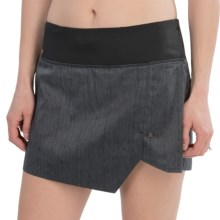 Brooks PureProject Reflective Skort (For Women) in Black - Closeouts
