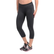 Brooks PureProject Seamless Capris - Compression (For Women) in Black - Closeouts