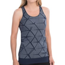 Brooks PureProject Seamless II Tank Top - Racerback (For Women) in Midnight - Closeouts