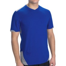 Brooks PureProject T-Shirt - Short Sleeve (For Men) in Electric/Anthracite - Closeouts