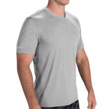 Brooks PureProject T-Shirt - Short Sleeve (For Men) in Heather Pewter - Closeouts