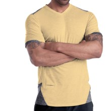 Brooks PureProject T-Shirt - Short Sleeve (For Men) in Sulphur/Anthracite - Closeouts