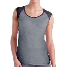 Brooks PureProject Tank Top (For Women) in Heather Black/Black - Closeouts