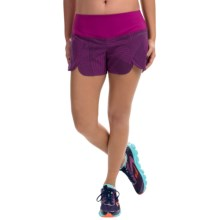 """Brooks Racey 3.5"""" Shorts (For Women) in Currant Little Sunshine - Closeouts"""