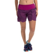 "Brooks Racey 7"" Shorts (For Women) in Currant Little Sunshine - Closeouts"
