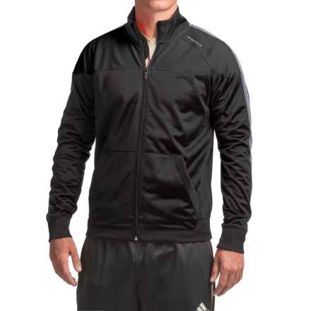 Brooks Rally Running Jacket (For Men) in Black/Asphalt - Closeouts