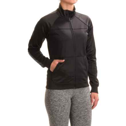 Brooks Rally Running Jacket - Full Zip (For Women) in Black/Asphalt - Closeouts