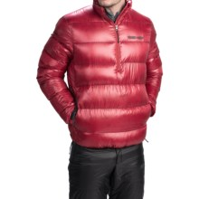 Brooks-Range Alpini Anorak Down Jacket - 800 Fill Power, Zip Neck (For Men) in Positive Red - Closeouts