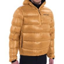 Brooks-Range Alpini Mountain Down Anorak Hoodie - 800 Fill Power, Zip Neck (For Men) in Wheat - Closeouts