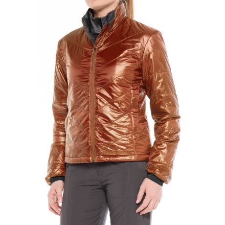Brooks-Range Azara PrimaLoft® Jacket - Insulated (For Women) in Bombay Brown