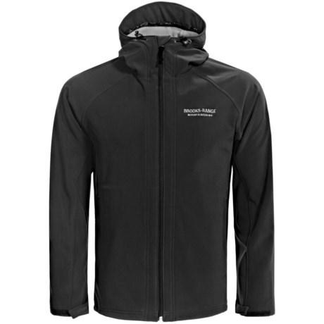 Brooks Range Black Mountain  Soft Shell Jacket (For Men) in Dark Blue