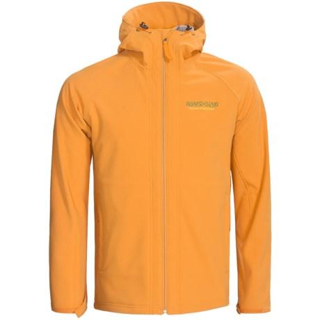 Brooks-Range Black Mountain  Soft Shell Jacket (For Men) in Gold