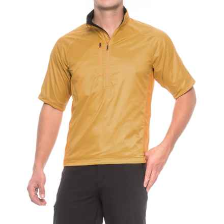 Brooks-Range Brisa T Polartec® Power Dry® Shirt - Short Sleeve (For Men) in Butterscotch/Wheat - Closeouts