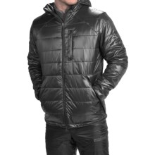 Brooks-Range Cirro Belay Jacket - Insulated (For Men) in Black - Closeouts