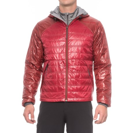 Brooks-Range Cirro PrimaLoft® Hoodie - Insulated (For Men) in Rust