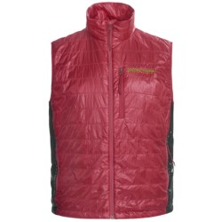 Brooks Range Cirro PrimaLoft® Vest - Insulated (For Men and Women) in Butterscotch