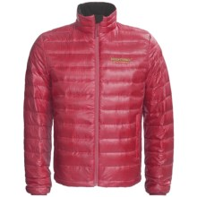Brooks Range Down Sweater Jacket - 850 Fill Power (For Men and Women) in Positive Red/Wine Red - Closeouts