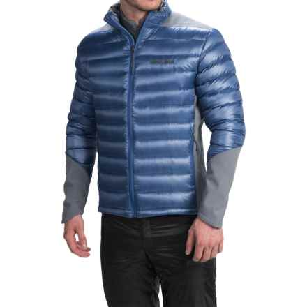 Brooks-Range Hybrid Down Jacket - 800 Fill Power (For Men) in Smoke - Closeouts