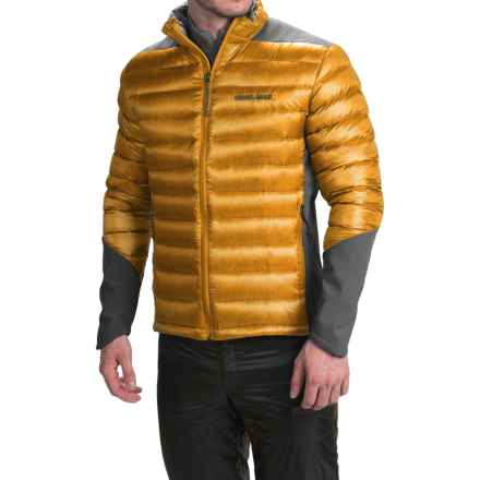 Brooks-Range Hybrid Down Jacket - 800 Fill Power (For Men) in Wheat - Closeouts