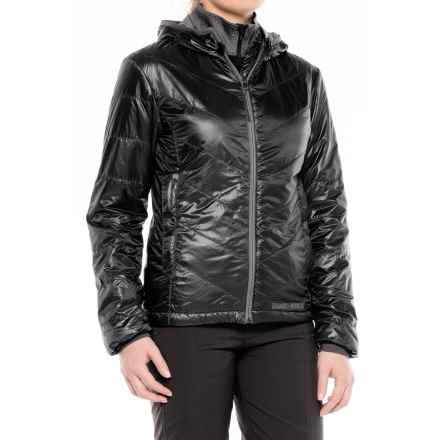 Brooks-Range Mountaineering Azara Hooded PrimaLoft® Jacket - Insulated (For Women) in Black - Closeouts