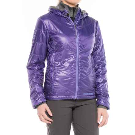 Brooks-Range Mountaineering Azara Hooded PrimaLoft® Jacket - Insulated (For Women) in Dark Orchid - Closeouts