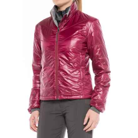 Brooks-Range Mountaineering Azara PrimaLoft® Jacket - Insulated (For Women) in Red Plum - Closeouts