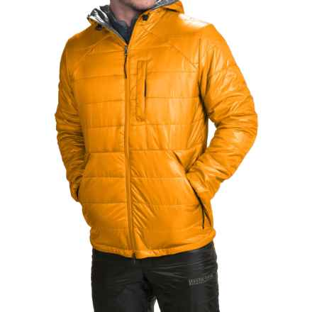Brooks-Range Mountaineering Cirro PrimaLoft® Belay Jacket - Insulated (For Men) in Wheat - Closeouts
