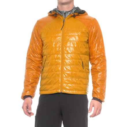 Brooks-Range Mountaineering Cirro PrimaLoft® Hoodie - Insulated (For Men) in Wheat - Closeouts