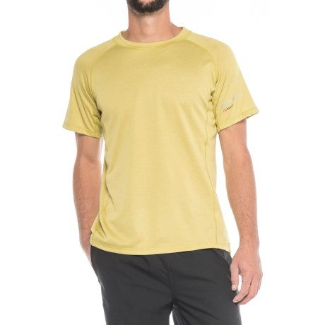 Brooks-Range Mountaineering Polartec® Power Dry® Shirt - Short Sleeve (For Men) in Limelight