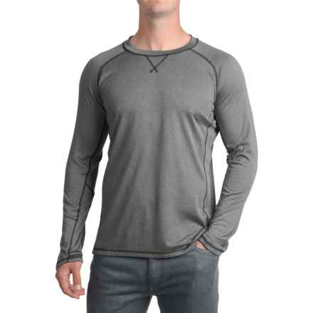 Brooks-Range Polartec® Wool-Blend Shirt - Long Sleeve (For Men) in Charcoal - Closeouts