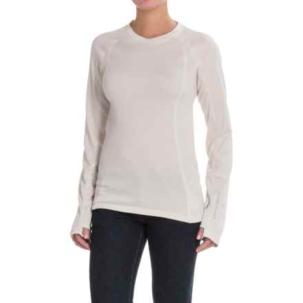 Brooks-Range Polartec® Wool-Blend Shirt - Long Sleeve (For Women) in Fog - Closeouts