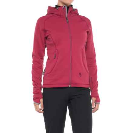 Brooks-Range Swift Polartec® Jacket (For Women) in Deep Fuchsia - Closeouts
