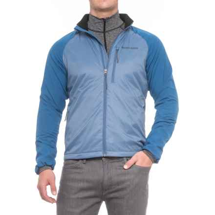 Brooks-Range Ultimate Brisa Polartec® Power Dry® Jacket - Insulated (For Men) in Dark Blue/Smoke - Closeouts