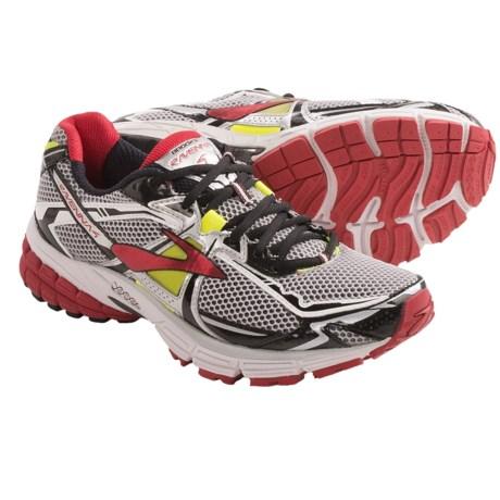 Brooks Ravenna 4 Running Shoes (For Men) in Lava/Nightlife/Silver/Black/White