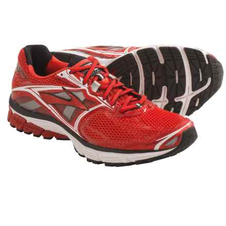 Brooks Ravenna 5 Running Shoes (For Men) in High Risk Red/White/Black - Closeouts