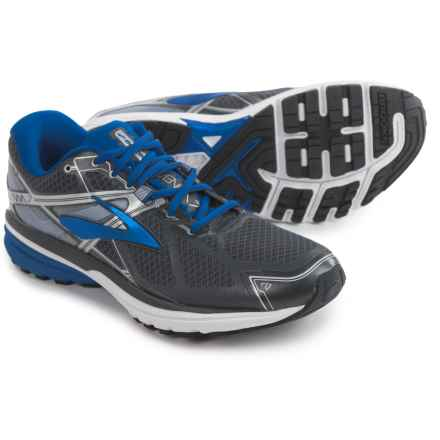 Brooks Ravenna 7 Running Shoes (For Men) in Anthracite/Electric Brooks Blue/Silver - Closeouts