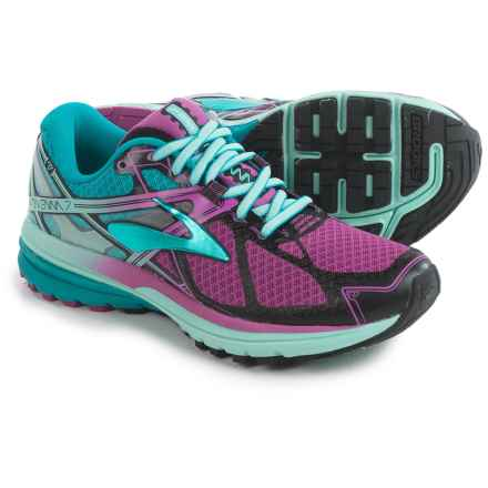 Brooks Ravenna 7 Running Shoes (For Women) in Deep Orchid/Caneel Bay/Aruba Blue - Closeouts