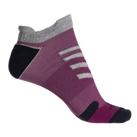 75be49bae6080 Brooks Ravenna Lightweight Socks - Ankle (For Women) in Oxford Current Navy