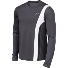 Brooks Rev II Shirt - Long Sleeve (For Men) in Anthracite/White - Closeouts