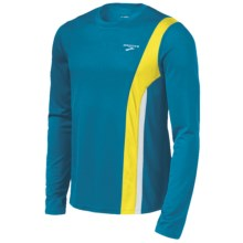 Brooks Rev II Shirt - Long Sleeve (For Men) in Atlantic/Sulphur - Closeouts