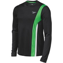 Brooks Rev II Shirt - Long Sleeve (For Men) in Black/Fern - Closeouts