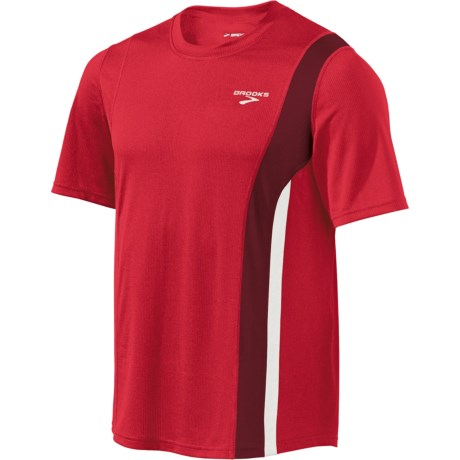 Brooks Rev II Shirt - Short Sleeve (For Men) in Plasma.Matador